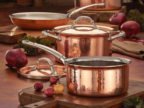 ظروف پخت و پز سنتی و مسی