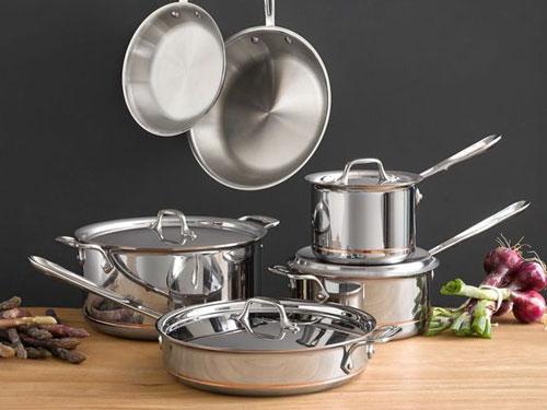 ظروف پخت و پز استیل