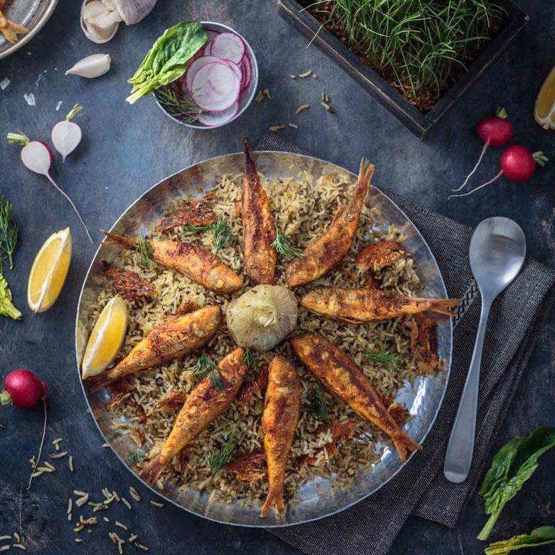 غذای عید نوروز در غذاپز ناخ